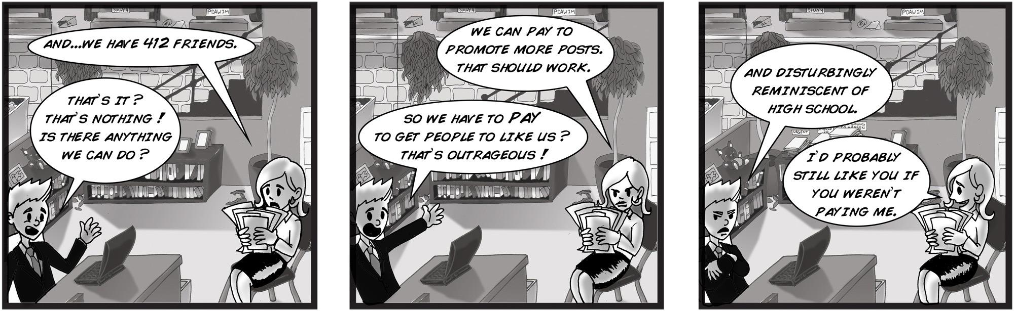 Jeff Havens Keynote Speaker Comic